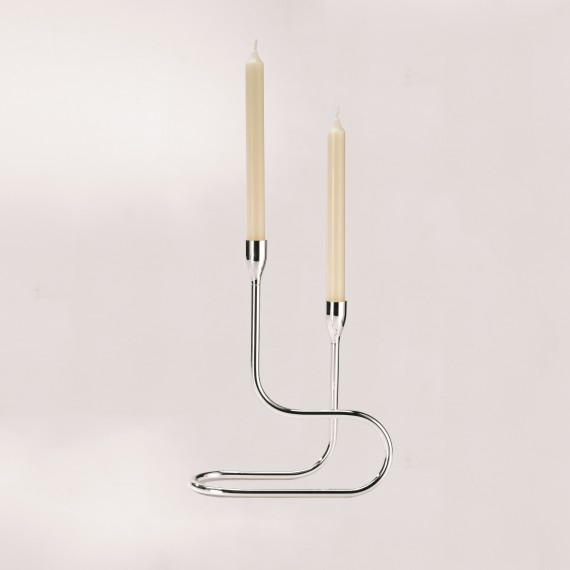 "Two Light Candleholder ""Grand Gourmet"""