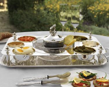 Greggio Silverplate Platter