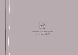 Lineasette Catalog 2016