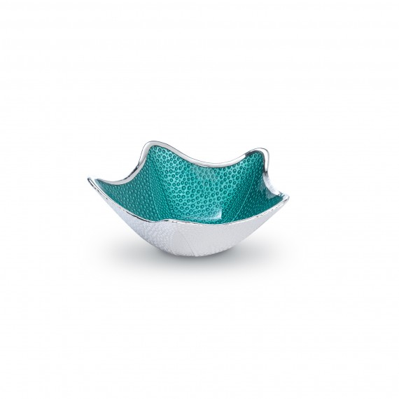 Aquamarine Starfish Bowl