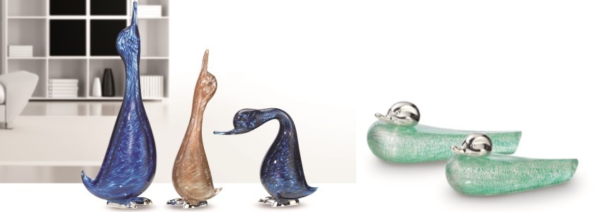 Oggettistica - Murano Glass Animal Objects